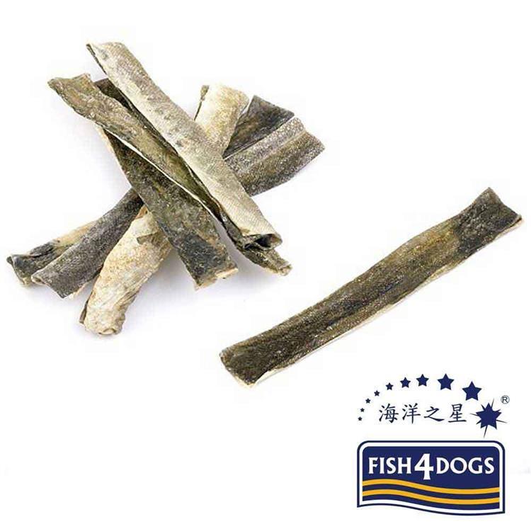 海洋之星FISH4DOGS 營養潔齒點心 魚皮薄片(100g*2入)