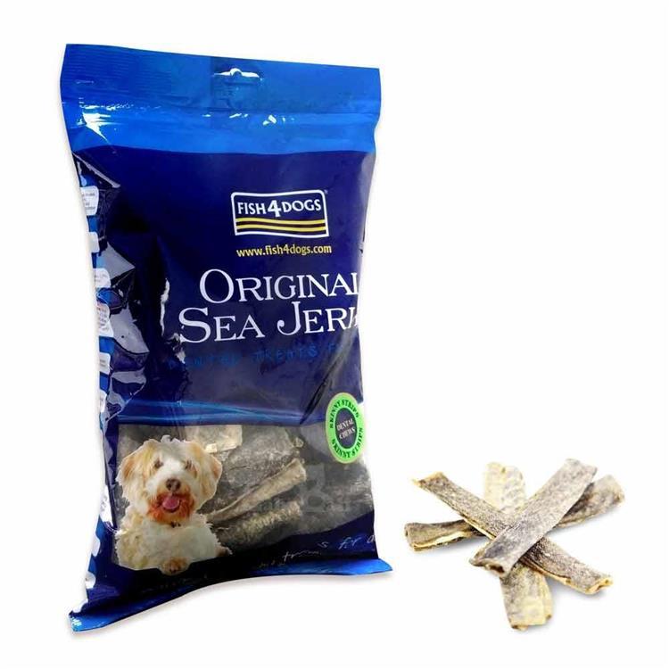 海洋之星FISH4DOGS 營養潔齒點心 魚皮薄片(500g)