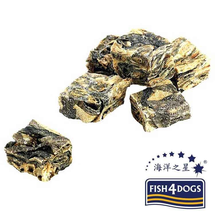 海洋之星FISH4DOGS 營養潔齒點心 魚皮方塊酥(100g*2入)