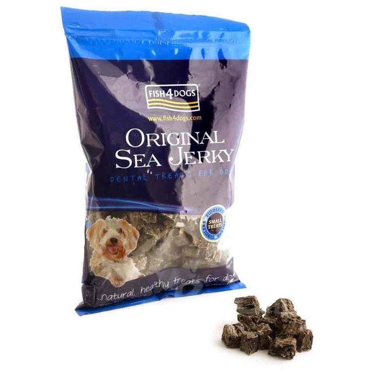 海洋之星FISH4DOGS 營養潔齒點心 魚皮小丁(500g)