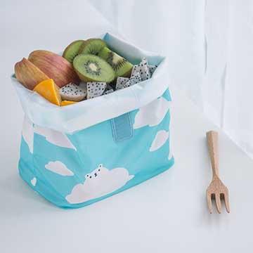 好日子   Pockeat環保食物袋(大食袋) 白白白雲