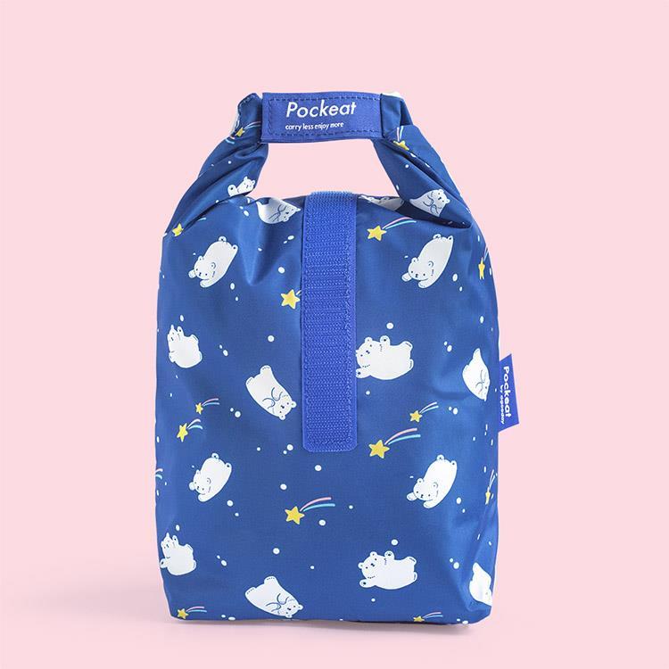 好日子 | Pockeat環保食物袋(大食袋) 流星白白