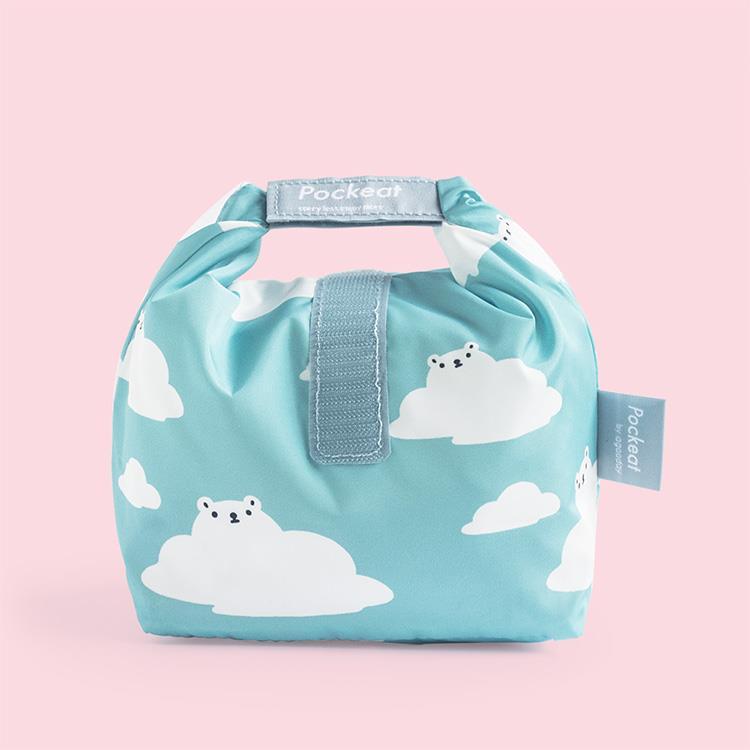 好日子 | Pockeat環保食物袋(小食袋) 白白白雲
