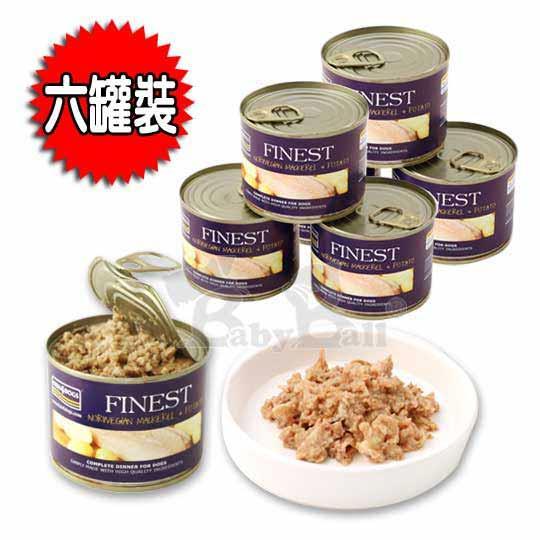 海洋之星FISH4DOGS 挪威鯖魚馬鈴薯主食犬罐(185g**6罐裝)