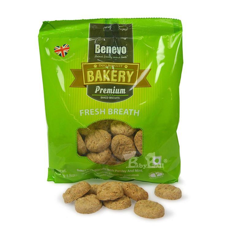 Benevo倍樂福 英國天然素食消臭小餅乾 250gx2入