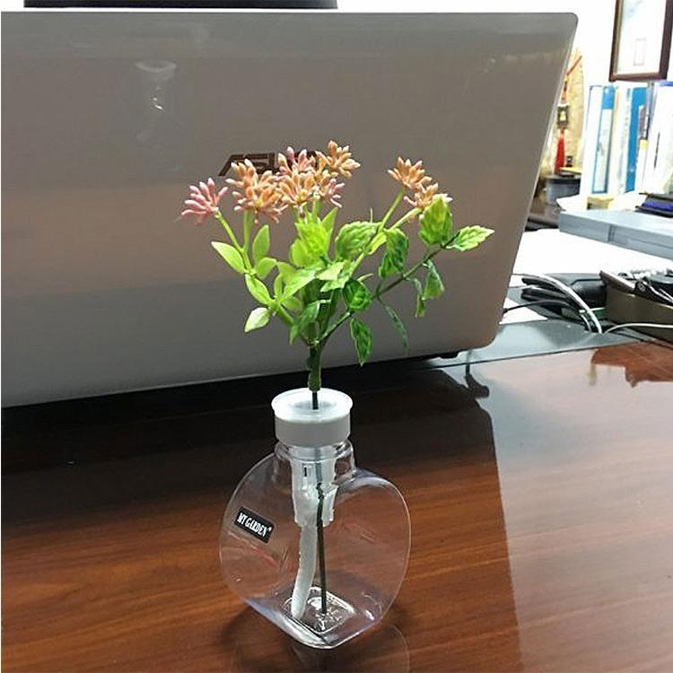 療癒植物容器 滿月瓶(DY608) 3入組