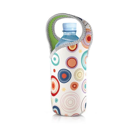 【義大利 e-my】時尚點點Jolly防水保冰溫水瓶提袋