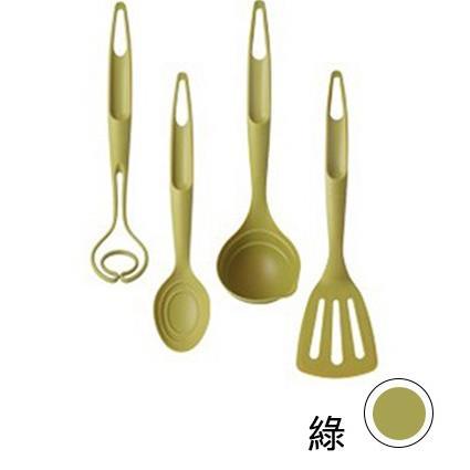 【韓國 Nineware】烹飪達人炒具組 Kitchen Utensil 湯匙 湯勺 量匙-橄欖綠