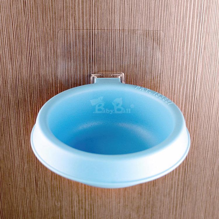 Babyball 壁貼式寵物碗(小型犬/貓) 天空藍 MIT外銷日本 DY3W