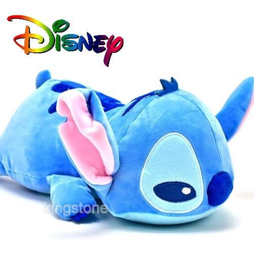 Disney【瞇瞇眼史迪奇】絨毛玩偶-M號
