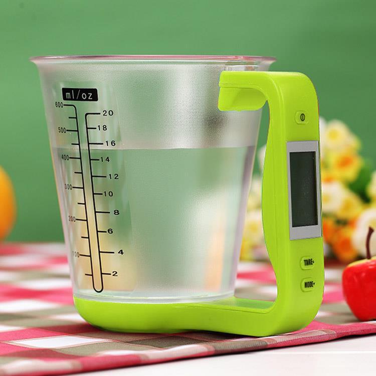 量杯型廚房電子秤(1kg/1g)