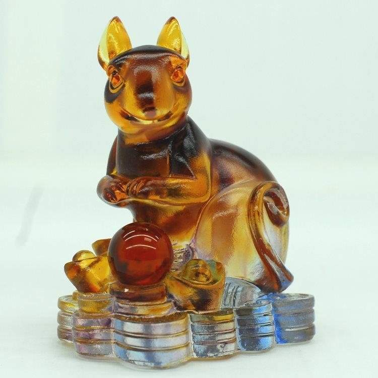 琉璃十二生肖-鼠