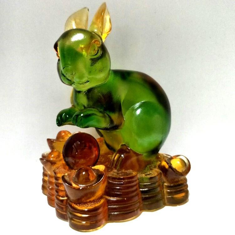 琉璃十二生肖-兔