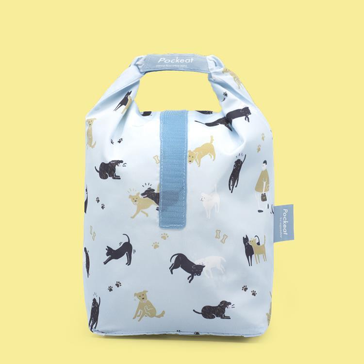 好日子   Pockeat環保食物袋(大食袋) 相信動物