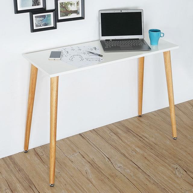 Yostyle 莉絲北歐風工作桌-月牙白