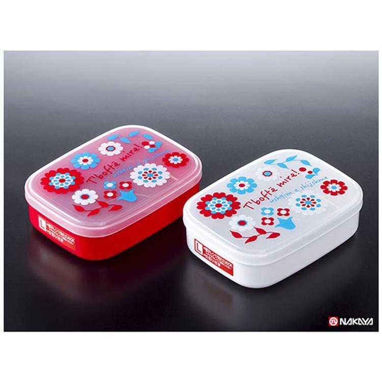 【WAVA】日本NAKAYA兒童便當盒650ml (紅色)