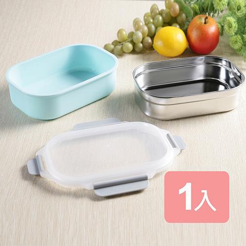 《真心良品xUdlife》藏鮮第二代方形保鮮隔熱環保餐盒1入組