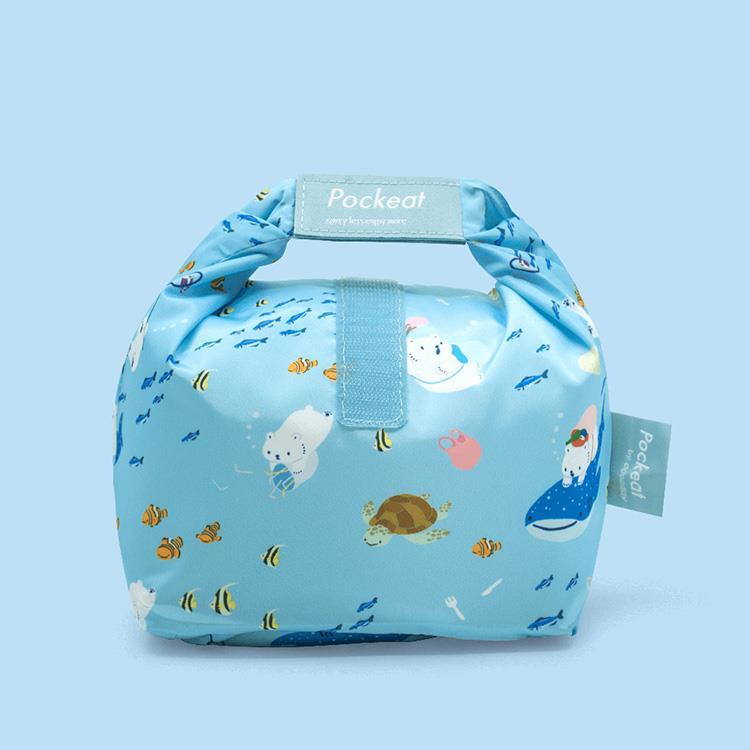 好日子 | Pockeat環保食物袋(小食袋) 白白與海
