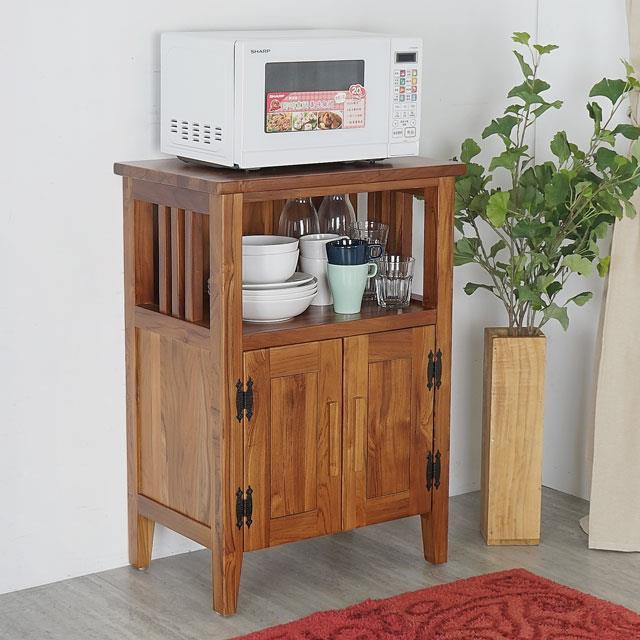 Yostyle 米契爾實木置物櫃