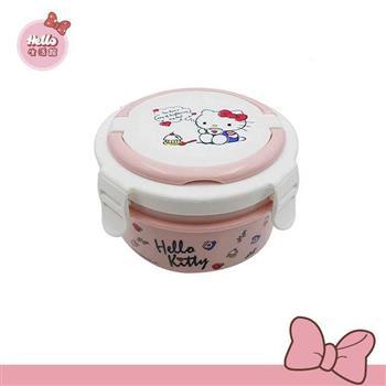 [Hello 生活館] Hello Kitty不鏽鋼隔熱餐盒-下午茶款 台灣製
