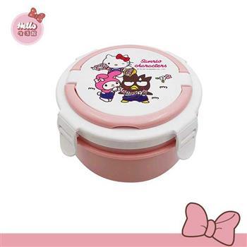 [Hello 生活館] Hello Kitty不鏽鋼隔熱餐盒-明星總動員(粉色款)台灣製