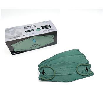 善存 醫用口罩(未滅菌)(雙鋼印)-成人立體型 宇治抹茶(25入/盒)