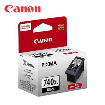 CANON PG-740XL 原廠黑色高容量墨水匣