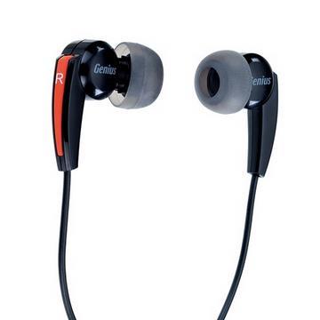 Genius HS-M220 密閉型立體聲噪音隔絕式耳機麥克風(紅色)