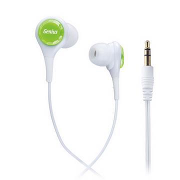 Genius GHP-240X 抗噪密閉型內耳式耳機(綠森林)