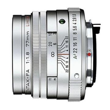 PENTAX SMC FA 77mm F1.8 Limited-銀(公司貨)