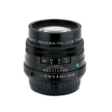 PENTAX SMC FA 77mm F1.8 Limited-黑(公司貨)