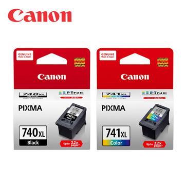 CANON PG-740XL+CL-741XL 原廠墨水超值組合包 (1黑+1彩)
