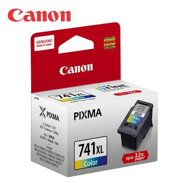 CANON CL-741XL 原廠彩色墨水匣
