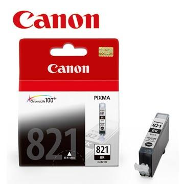 CANON CLI-821BK 原廠淡黑色墨水匣