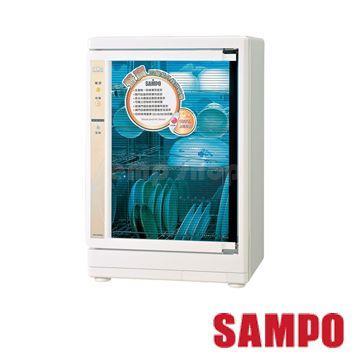 【SAMPO聲寶】四層光觸媒紫外線烘碗機 KB-GH85U