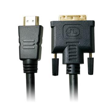 高品質HDMI轉DVI高畫質傳輸線 3米