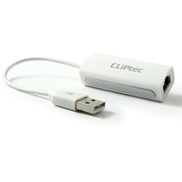 CLiptec USB2.0轉RJ45高速網路器