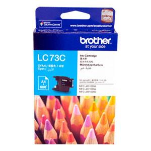 Brother LC73C 原廠藍色墨水