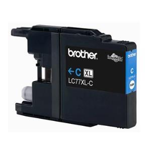 Brother LC77XL-C 原廠藍色高容量墨水