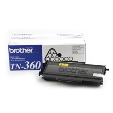 Brother TN-360 原廠黑色碳粉匣