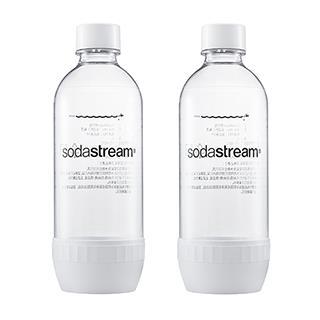 Sodastream 專用水瓶1L-2入(白)