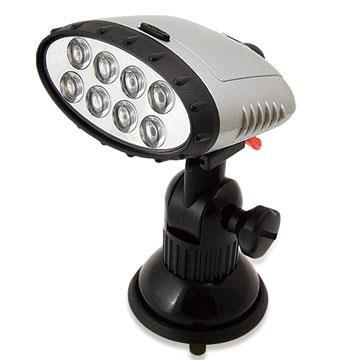 皇家騎士D35-多動向LED吸盤燈