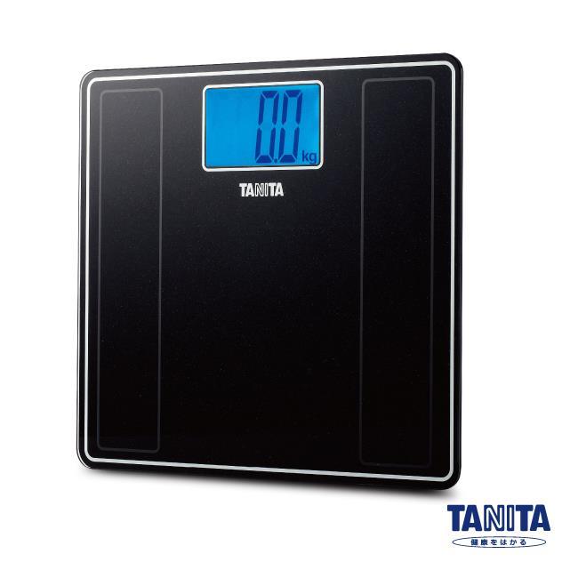 【日本TANITA】藍光LED大螢幕電子體重計HD-382(二色)