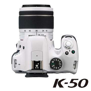 PENTAX K-50 / DAL18-55WR 防潑水單鏡組【公司貨】