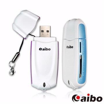 aibo Y033 USB 3.0 可攜式超高速讀卡機