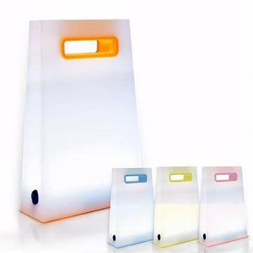 USB LED 提袋造型可充電式小夜燈