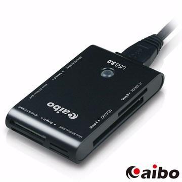 aibo Y032 USB3.0 全方位多功能讀卡機