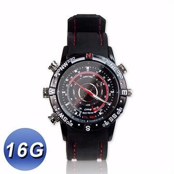 HD高畫質 防潑水攝影手錶 - 16G