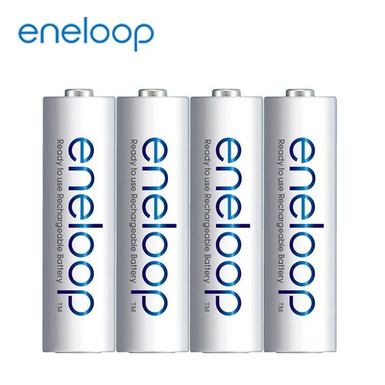 【Panasonic】國際牌eneloop低自放鎳氫充電電池(3號4入)