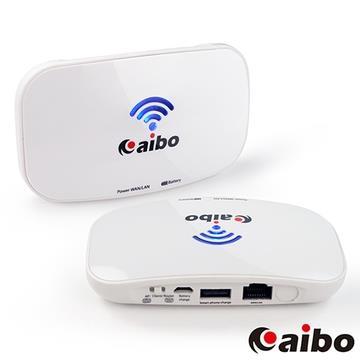 aibo WIFI BATTER 網路精靈 4200mAh行動電源+無線AP分享器